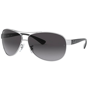 Ray Ban RB3386 Silver with Black / Grey Gradient